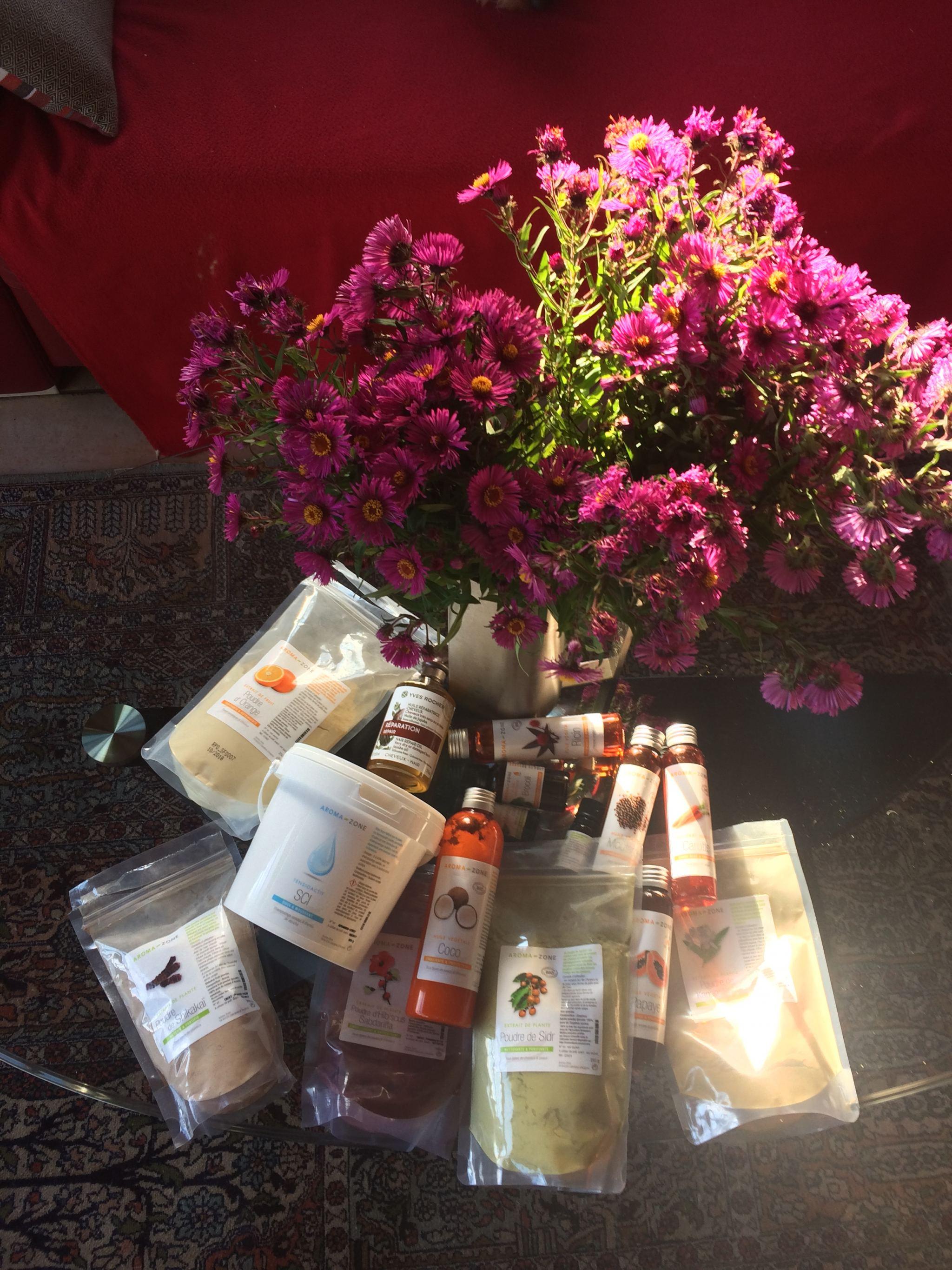 Mes poudres et huiles indispensables