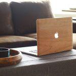 Coque Mac en bois